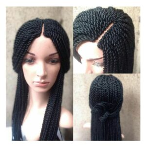 Long Braided Wig Images