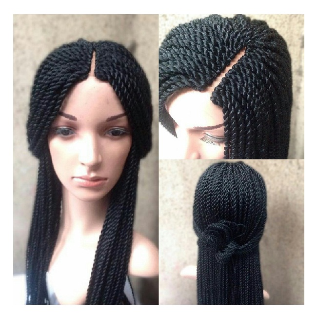 Long Braided Wig