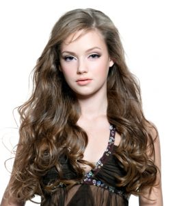 Indian Wavy Long Wig for Round Faces Photos