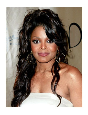 Janet Jackson Wig