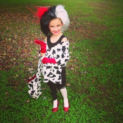 Cruella Deville Wig For Kids