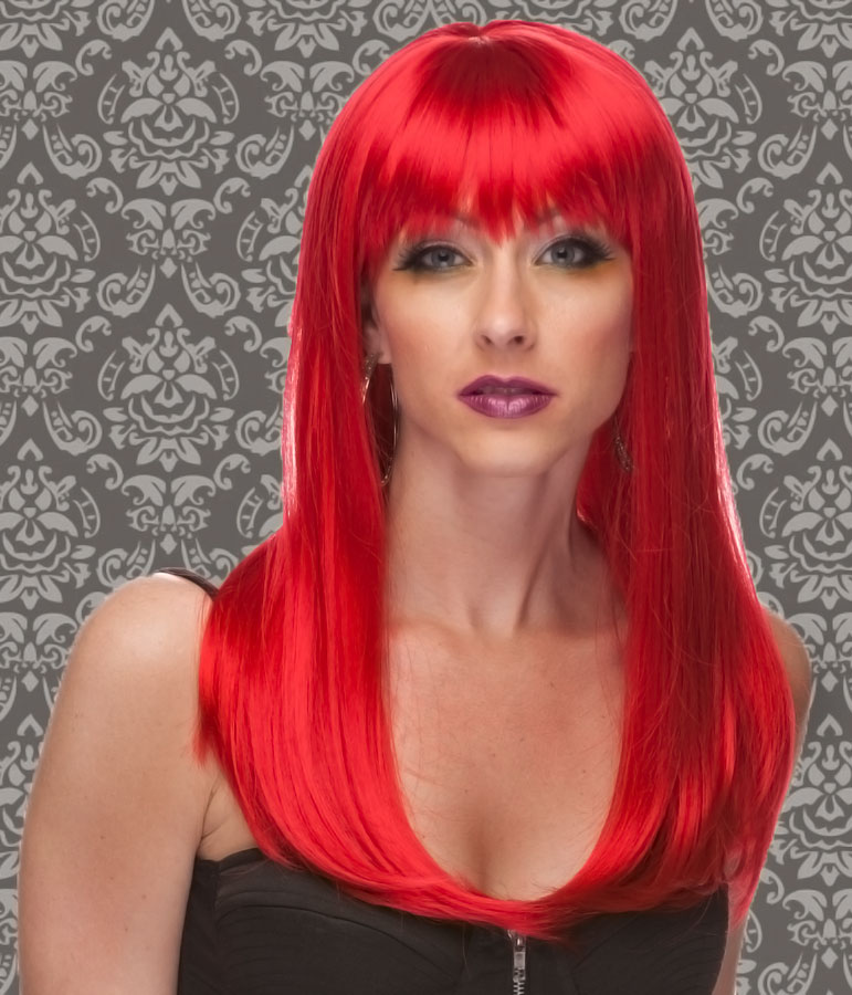 Long Red Wigs | HairTurners
