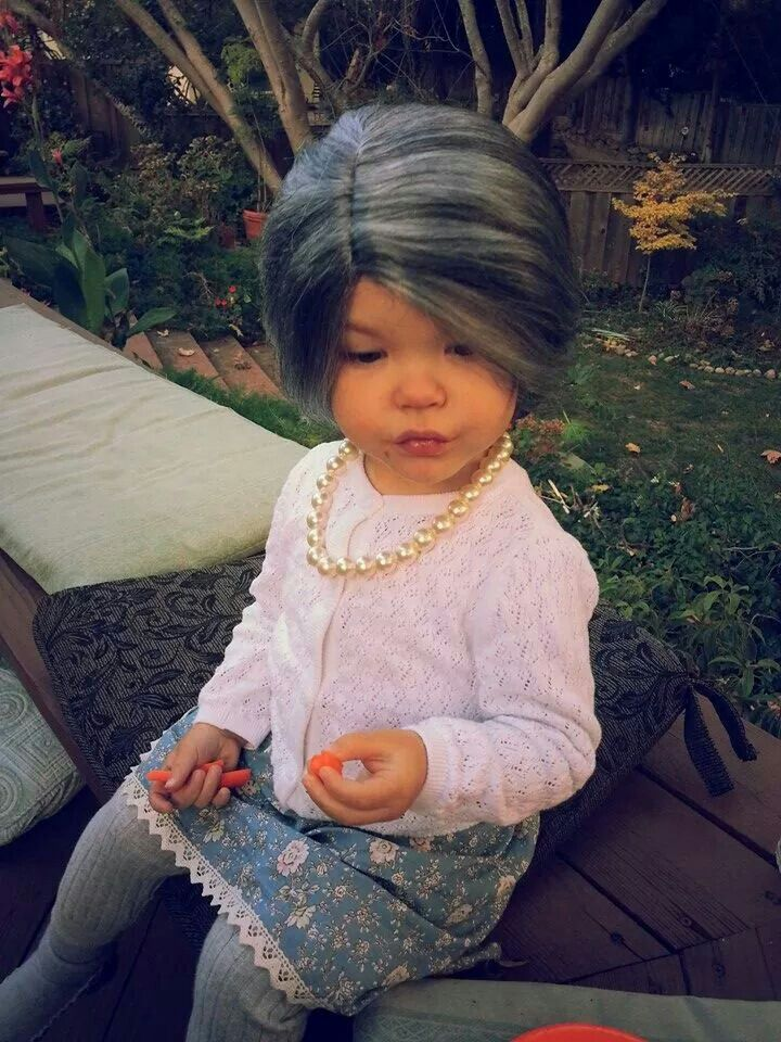 Old Lady Wigs for Babies  c6fc581942