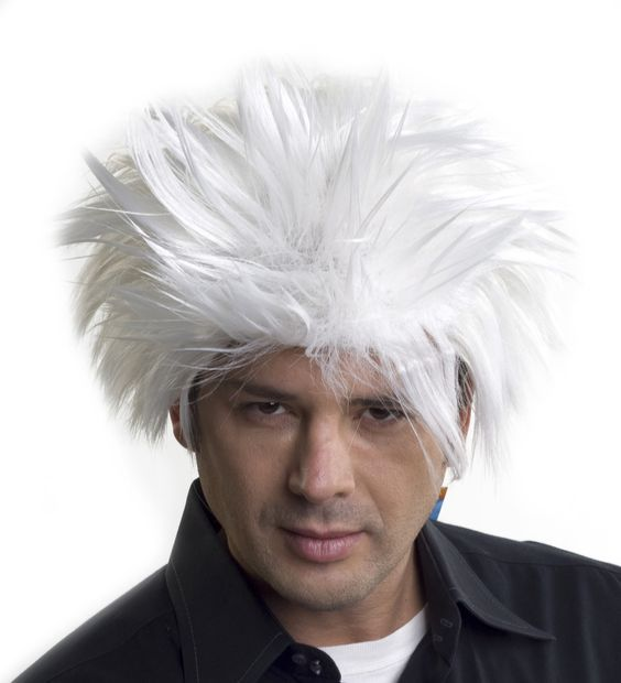 Short White Wigs Hairturners