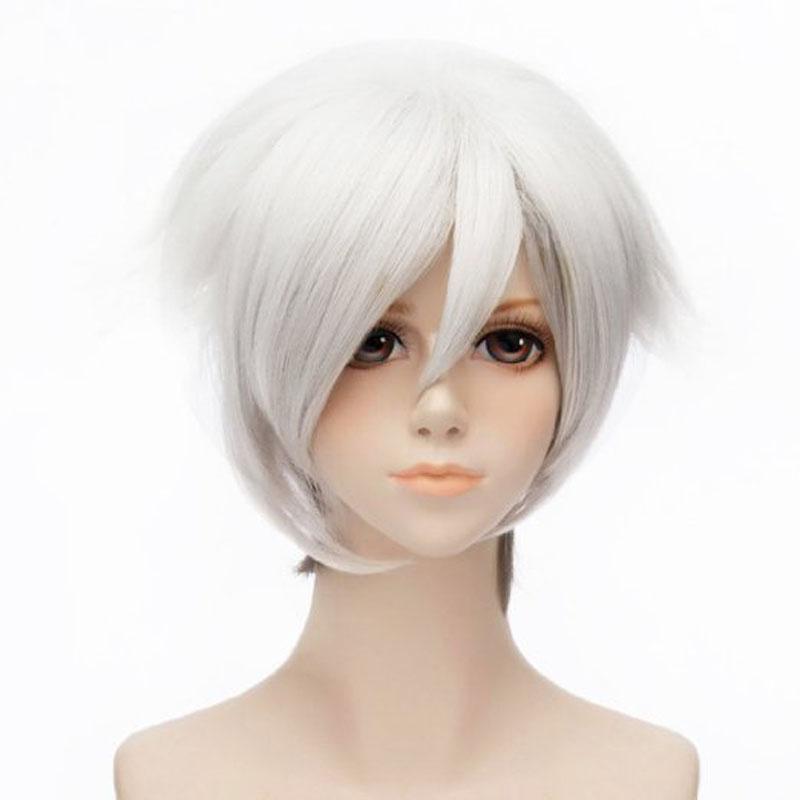 Short White Wigs
