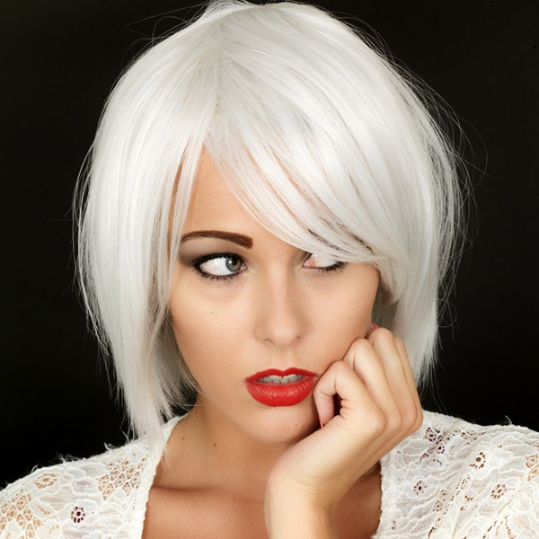 Short White Wigs  d9a519df52cf