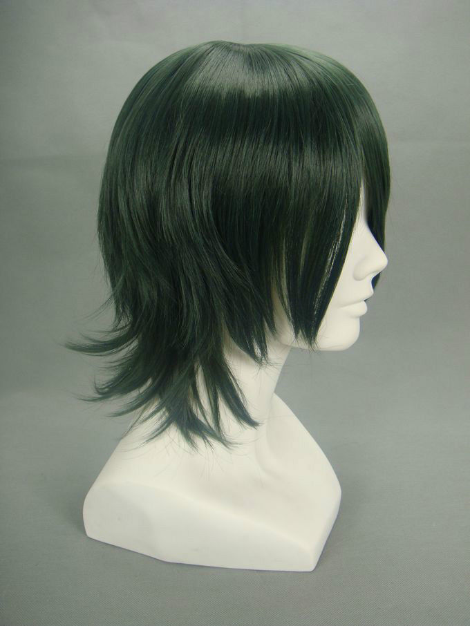 Dark Green Wigs Hairturners