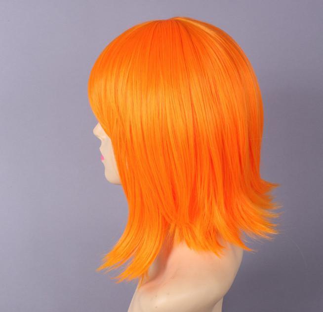 Orange Wigs Hairturners