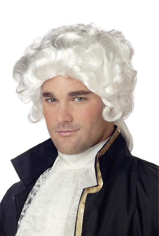 White Hair Old Man Wig