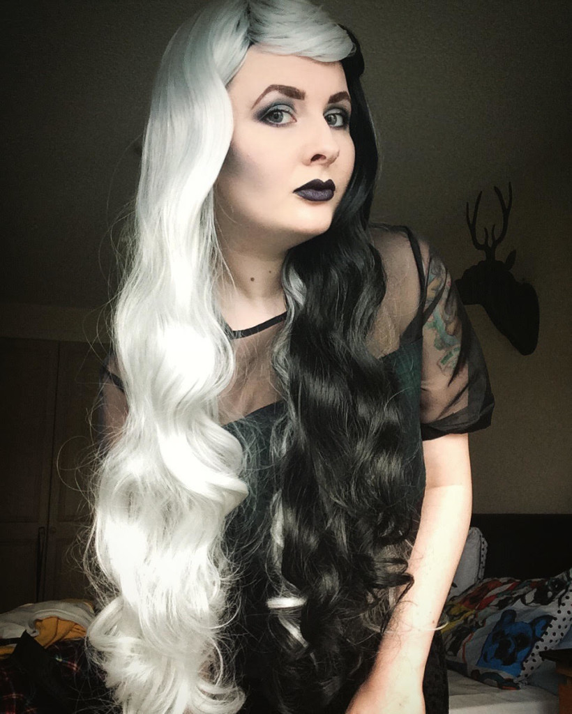 Black And White Wigs Hairturners