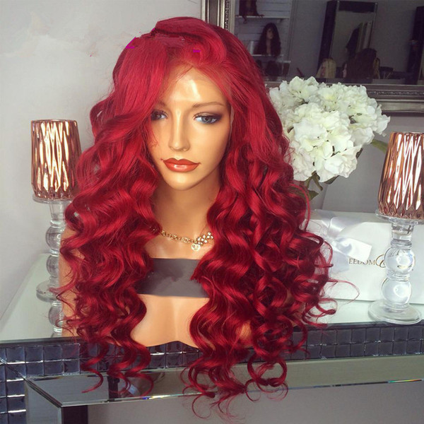 Red Lace Front Wigs | HairTurners