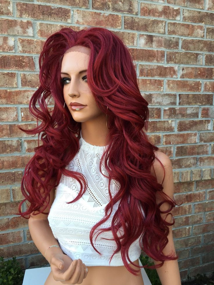 Red Lace Front Wigs Hairturners